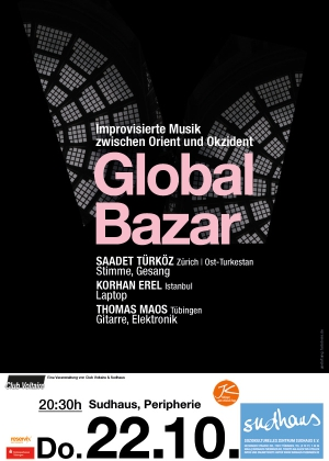 Global Bazar Plakat